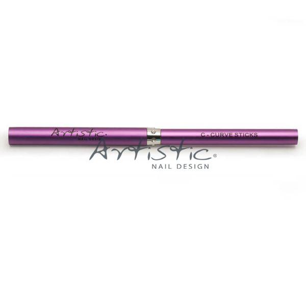 Artistic-purple-Curve-stick