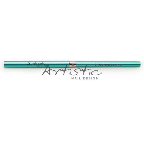 Artistic-torquoise-Curve-stick