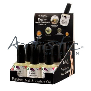 Artistic Cuticle Oil 12pcs Display  03223