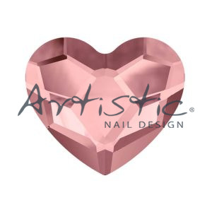 Swarovski-Strass-Antique-Pink-2808-6.0mm-Καρδούλα