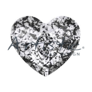 Swarovski-Strass-Black-Patina-2808-6.0mm-Καρδούλα