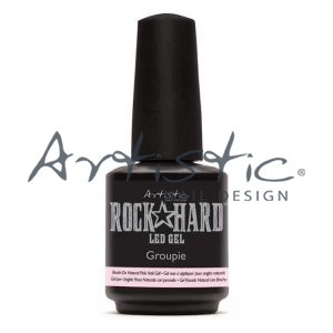 Groupie Brush On Natural Pink Gel 02206